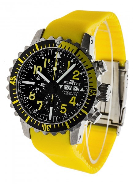 Fortis B-42 Marinemaster Chronograph Yellow 671.24.14 SI.04