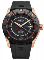 EDOX Chronoffshore 1 GMT Worldtimer Automatik 93005 37R NOJ