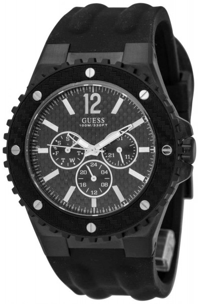 Guess Overdrive Day-Date Herrenuhr Quarz W11619G1