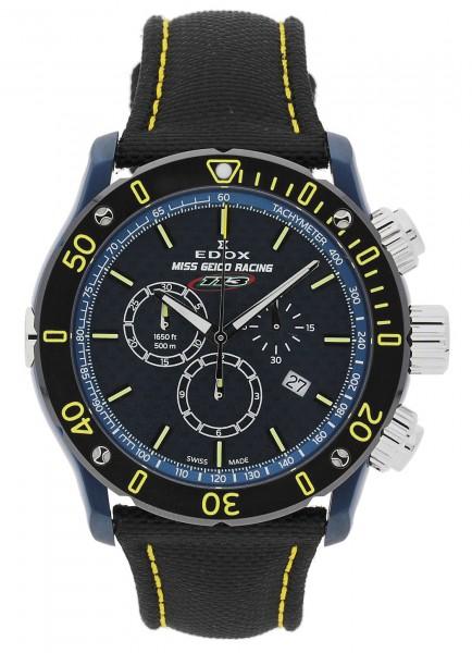 EDOX Chronoffshore 1 - Miss Geico Racing 113 - Limited Edition Chronograph Quarz 10221 357BUJ BUJ113