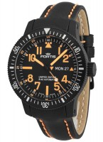 Fortis B-42 Black Mars 500 Day/Date 647.28.13 L.13 -Limited Edition-