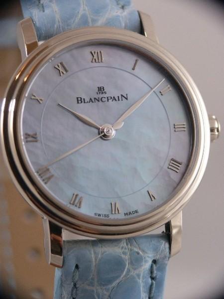 Blancpain Villeret Ultraflach in 18kt Weißgold 6102-1590-54