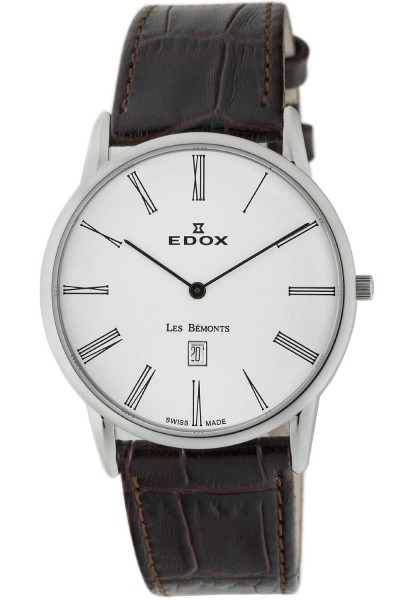 Edox Les Bemonts Ultra Slim 26023 3 BR