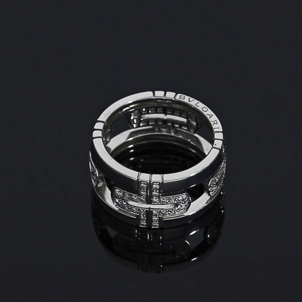 Bulgari PARENTESI Diamant-Ring aus Weißgold AN85396