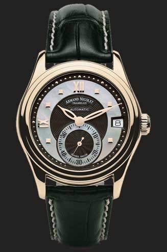Armand Nicolet M03 Small Seconds & Date 7155A-NN-P915NR8