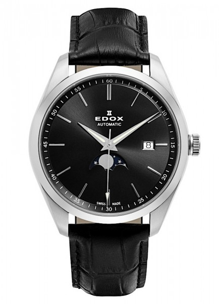 EDOX Les Vauberts Mondphase Datum Automatik 80505 3 NIN