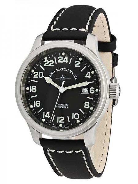 Zeno Watch Basel NC Pilot 24 HOURS Automatic Date 9563-24-a1