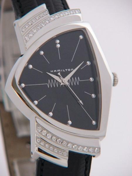 Hamilton Ventura Quarz mit Diamanten H24461732