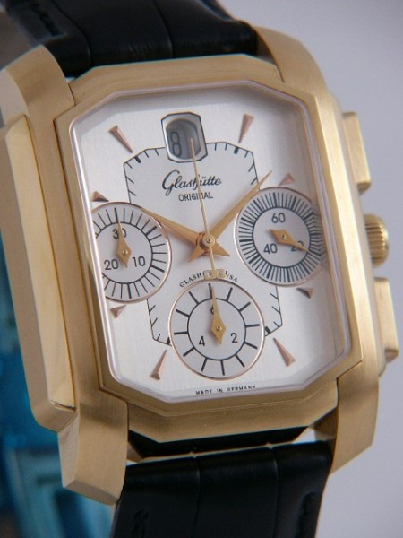 Glashütte Original Karree Automatik Chronograph 39-32-09-05-04