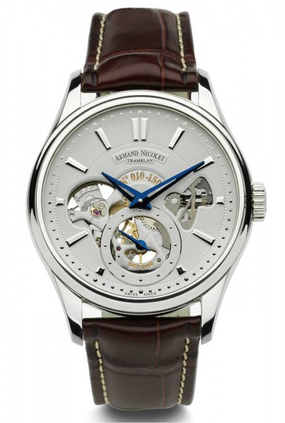 Armand Nicolet L08 Small Seconds Limited Edition 9620A-AG-P713MR2