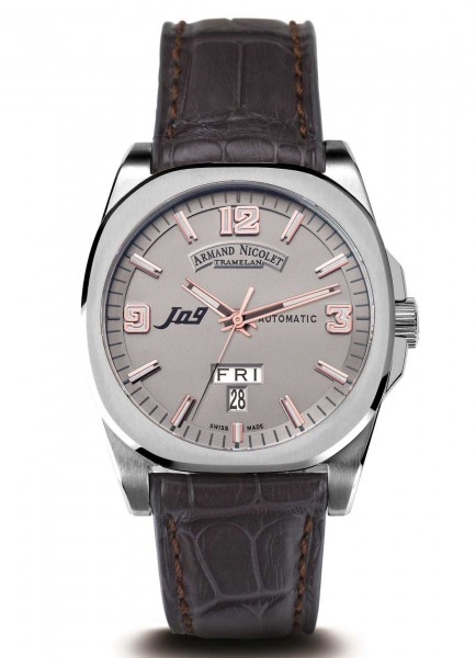 Armand Nicolet J09 Day & Date Automatic 9650A-GS-P965GR2