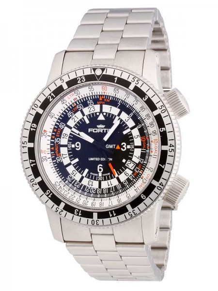 Fortis B-47 Calculator 3 Time Zones 669.10.31 M