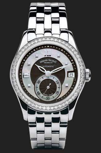 Armand Nicolet M03 Small Seconds & Date 9155D-NN-M9150