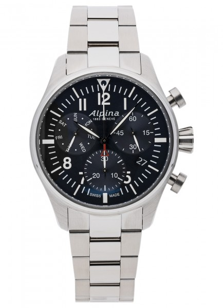 Alpina Startimer Pilot Datum Chronograph Quarz AL-371NN4S6B