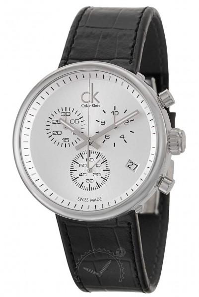 Calvin Klein Substantial Herrenuhr Chronograph K2N281C6