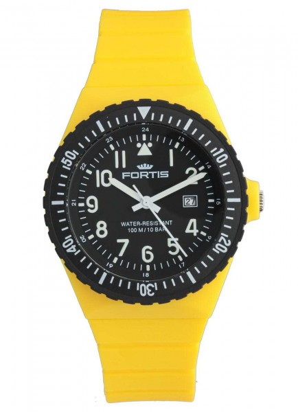 Fortis Colors C704.C04 Yellow 42mm Quarzwerk