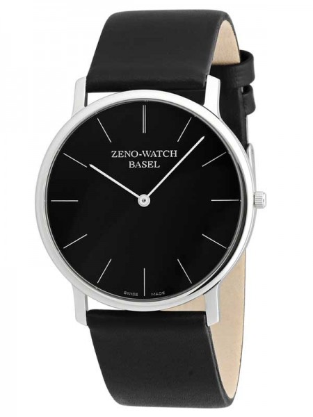Zeno Watch Basel Bauhaus Herrenuhr nur 7mm Höhe 3767Q-i1