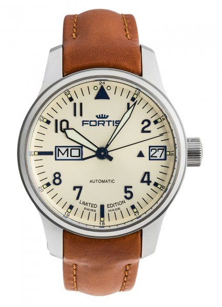 Fortis Aviatis F-43 Recon Big Day/Date Limited Edition 700.10.92 L.38