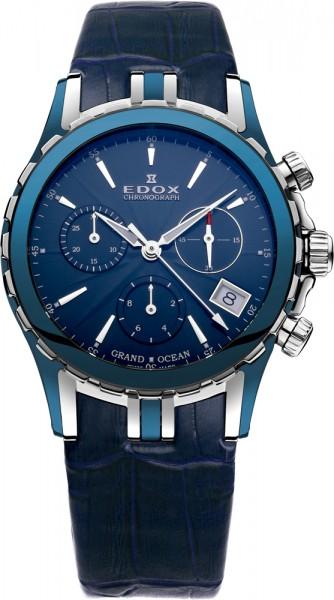 Edox Grand Ocean Chronolady Chronograph 10410 357B BUIN