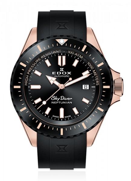 EDOX SkyDiver Neptunian Datum Automatik 80120 37RNNCA NIR