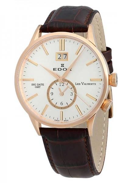 Edox Les Vauberts GMT Big Date 62003 37R AIR