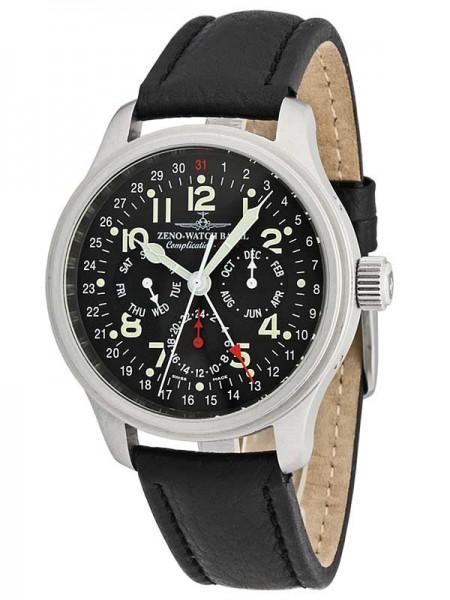 Zeno Watch Basel NC Retro GMT Vollkalender 9590-a1