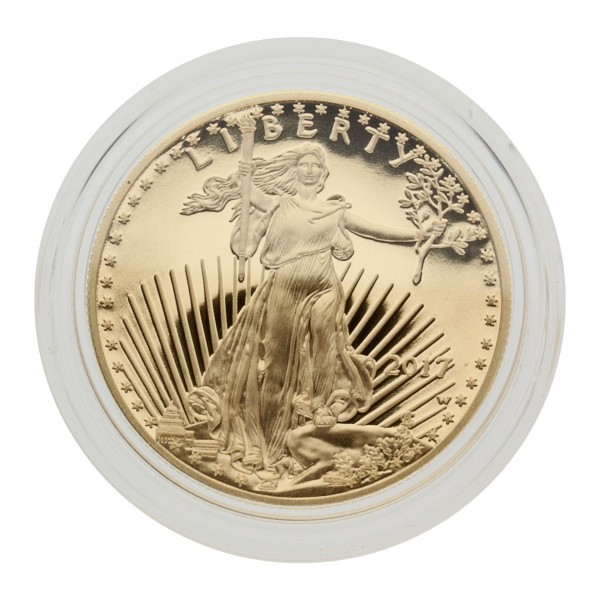"1 oz USA 2017 ""American Gold Eagle"" 50 Dollar Goldmünze Proof/PP"