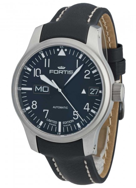 Fortis Aviatis F-43 Recon Big Day/Date -Limited Edition- 700.10.81 L.01