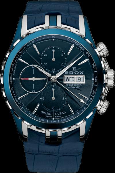 Edox Grand Ocean Automatic Chronograph 01113 357B BUIN
