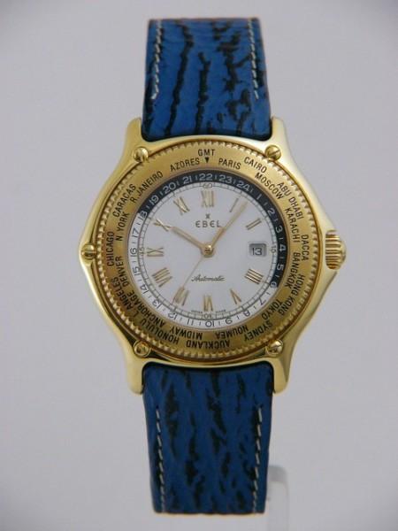 Ebel Voyager Senior GMT in Gold 8124913/0235702