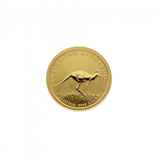 "1/10 oz Australien 2008 ""Australian Kangaroo"" 999,9 Goldmünze"