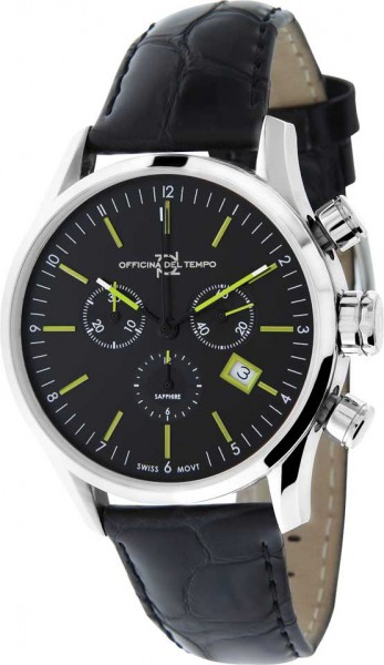 Officina del Tempo Business Chronograph OT1038-1100NGN