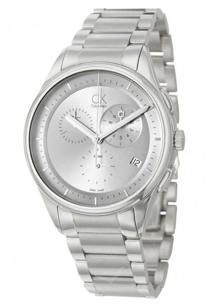 Calvin Klein Basic Herrenuhr Chronograph K2A27120