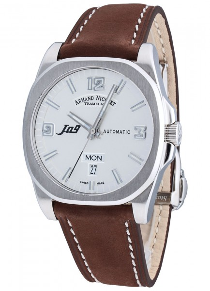 Armand Nicolet J09 Day&Date Automatic 9650A-AG-P865MR2