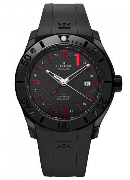 EDOX Chronoffshore 1 GMT Worldtimer Automatik 93005 37N NRO