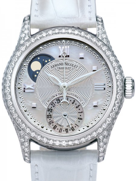 Armand Nicolet M03 Moonphase & Date 9151V-AN-P915BC8