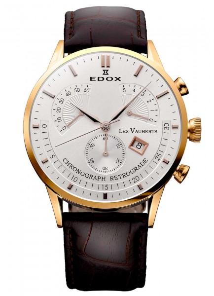 Edox Les Vauberts Retrograde Chronograph 01505 37R AIR