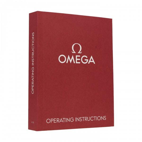 Omega Original Universal Handbuch Rot
