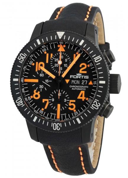 Fortis B-42 Black Mars 500 Chronograph Automatik 638.28.13 L.13