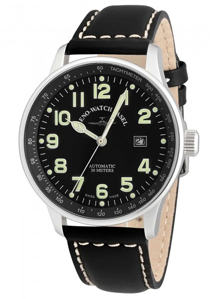 Zeno-Watch Basel XL Pilot Automatic Date P554-a1