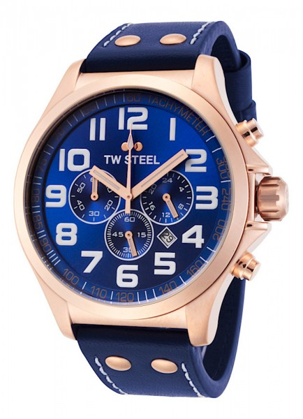 TW Steel Pilot Chronograph Datum Quarz TW406