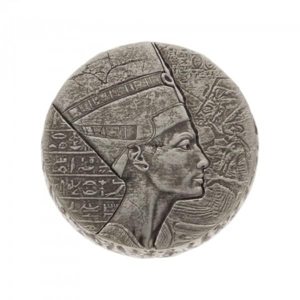 5 oz Republik Tschad 2017 Queen Nofretete 5 Unzen 999/1000 Silbermünze