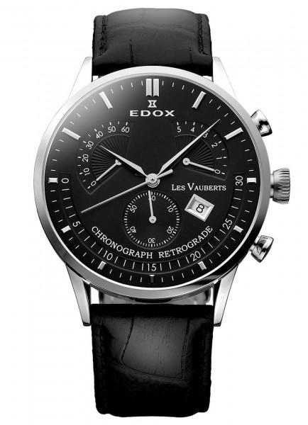Edox Les Vauberts Chronograph Retrograde 01505 3 NIN