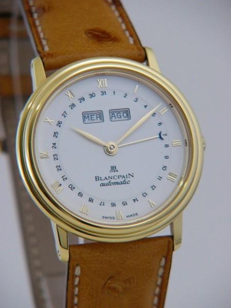 Blancpain Leman Automatic Vollkalender 6695-1418l-58