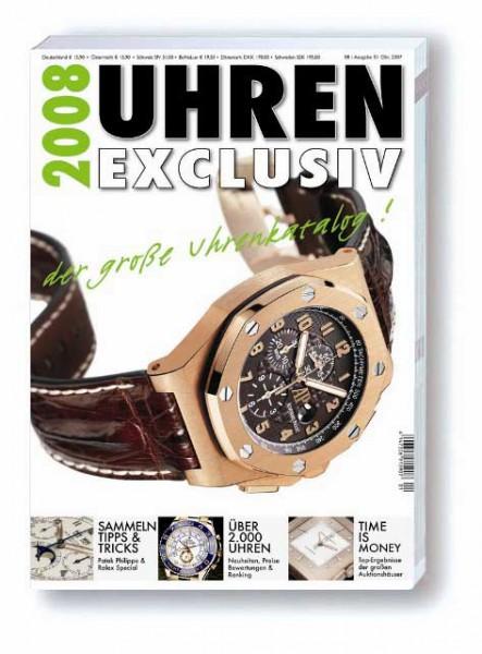 Uhren Exclusiv 2008 Uhrenkatalog