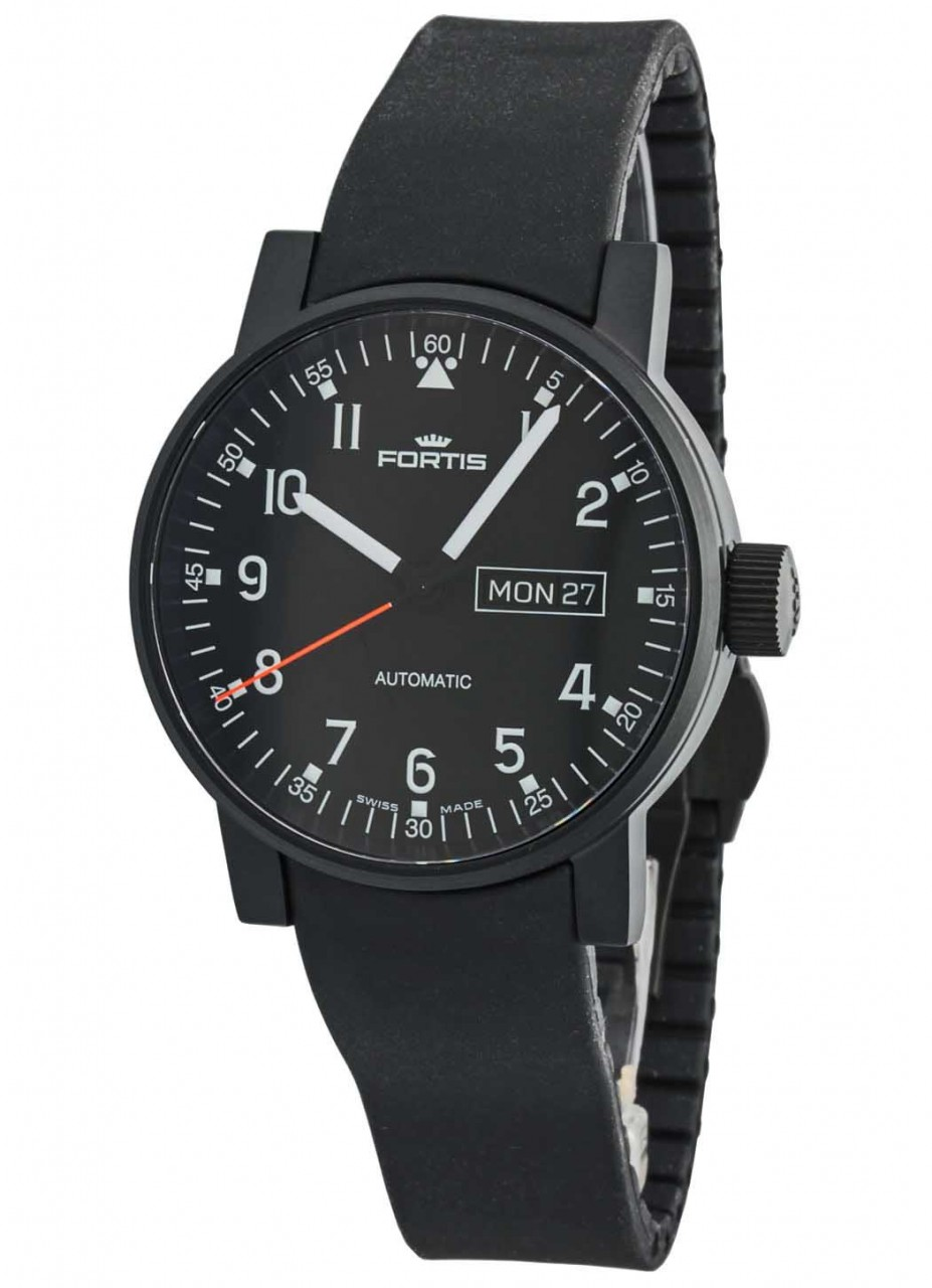 Fortis Spacematic Pilot Professional Day/Date Automatik