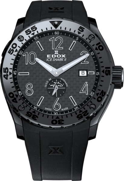 Edox Chronoffshore 1 Ice Shark II Limited Edition Automatik 96001 37N NIN3