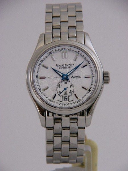 Armand Nicolet Hunter Small Second 9045A-AG-M9040