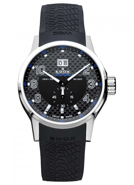 Edox WRC Rally Timer Big Date 64008 3 NIN
