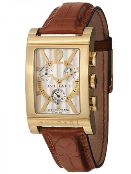 Bvlgari Rettangolo Chronograph 18kt Gold RTC49C6LGLD